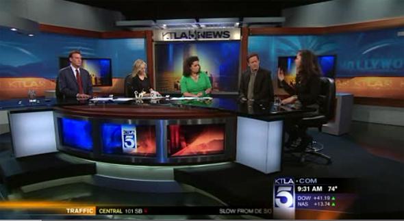 Shannon on KTLA News