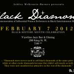BLACK DIAMONDS ART SHOW TEASER