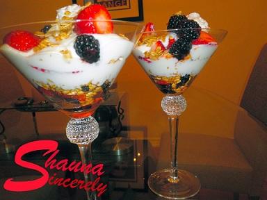 """Shauna's """"Fruit Parfait"""""""