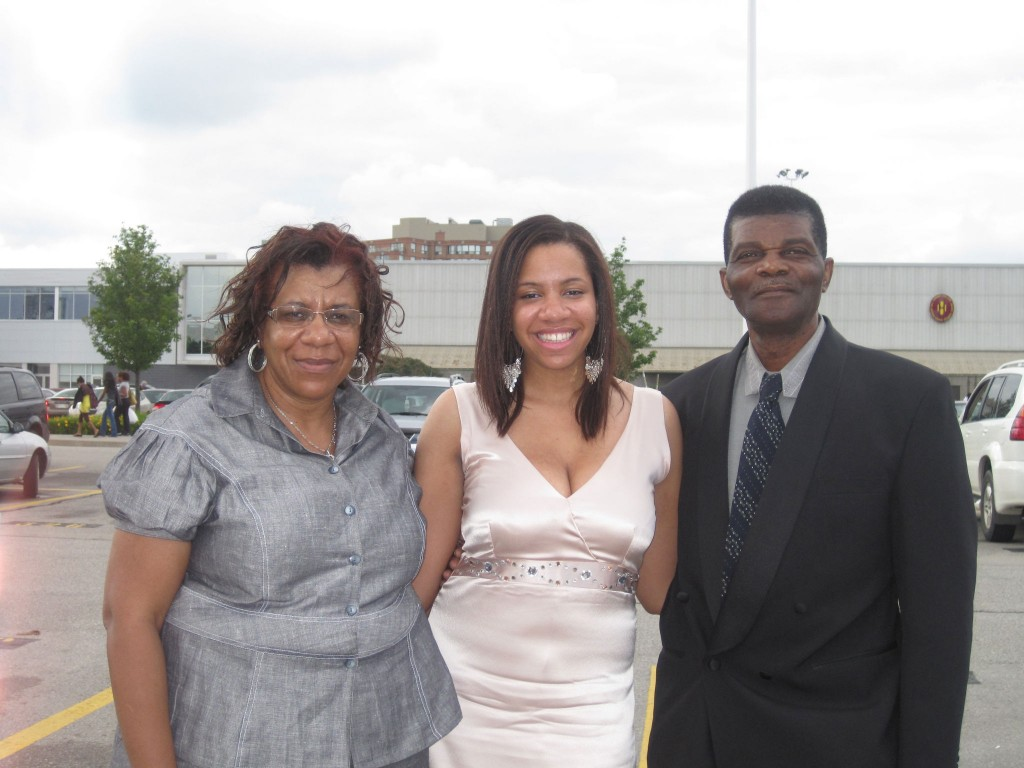 Shauna & her parents