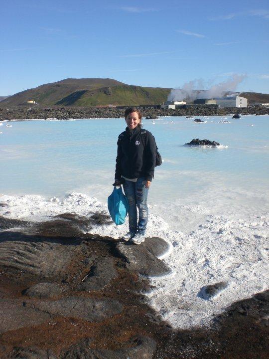 Kristen in Iceland