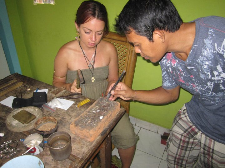 Jewelry making in indonesia