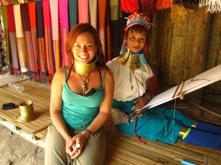 Kristen in North Thailand