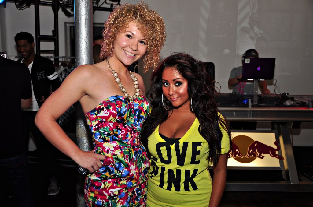 Chrissy with Snooki