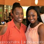 [Host] Fiana Andrews and I at the #conversationparty event
