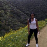 Here I am completely exhausted after hiking through Hollywood Hills.