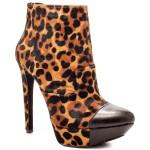 Essas Tan Leopard Boots