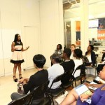 Hosting workshops and empowering young adults
