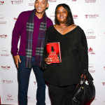 Will Smith & NY Times Best Selling Author Sistah Souljan (photo credit: theybf.com)