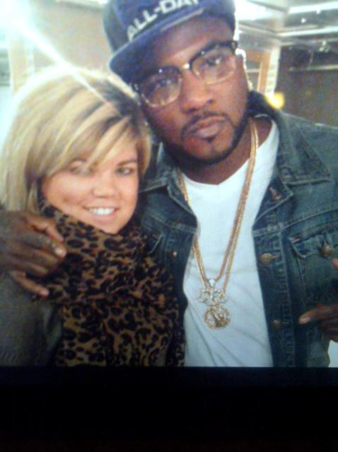 Tara with Young Jeezy