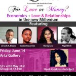 EVENTS: Battle of the Sexes Show Presents – For Love or Money? June 14, 2013