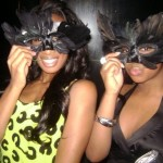 Shannae Ingleton & I at a party together a few years ago