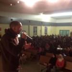 speaking at empowerment workshop