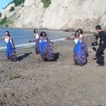 The beautiful dancers