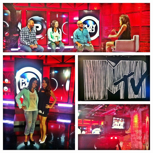 Nadine's appearance on MTVs Play with AJ