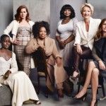 Oprah Winfrey, Lupita Nyong'o, Julia Roberts, Amy Adams, Octavia Spencer & Emma Thompson for The Hollywood Reporter's Actress Roundtable