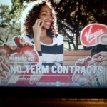 Rosemary in a Virgin Mobile commercial