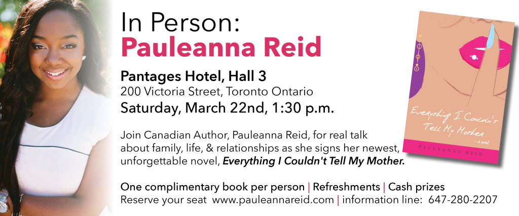 Book Launch & Signing: Everything I Couldn't Tell My Mother @ Pantages Hotel Toronto | Toronto | Ontario | Canada