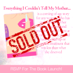 Book Launch RSVP Card sold out