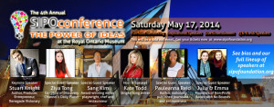4th Annual SIPO Conference: The Power Of Ideas @ Royal Ontario Museum | Toronto | Ontario | Canada