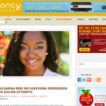 I'm Discussing Depression, Suicidal Attempts & How I Survived In Anancy Magazine