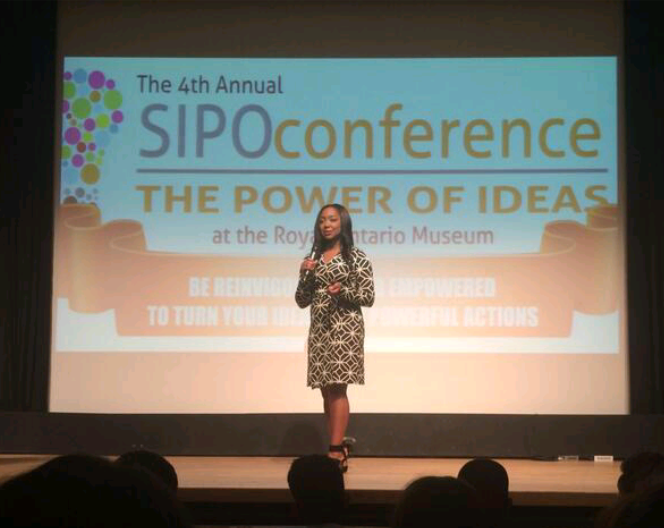 [photos] I Had The Honor Of Speaking At The 4th Annual SIPO Conference: Power Of Ideas
