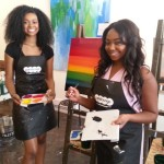 [photos] Dreaming In Full Color: An Inspiring Recap From The Art Therapy Event w/ Chivon John