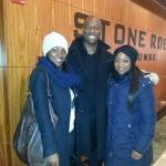 Bea, Hakeem and I