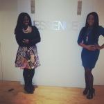 Lifestyle & Relationships Editor, Charreah Jackson and I