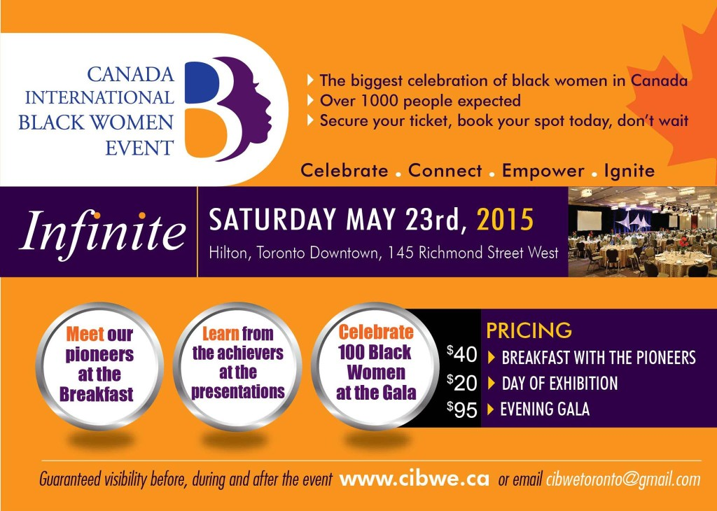Canada Int'l Black Women Event @ The Hilton Hotel | Toronto | Ontario | Canada
