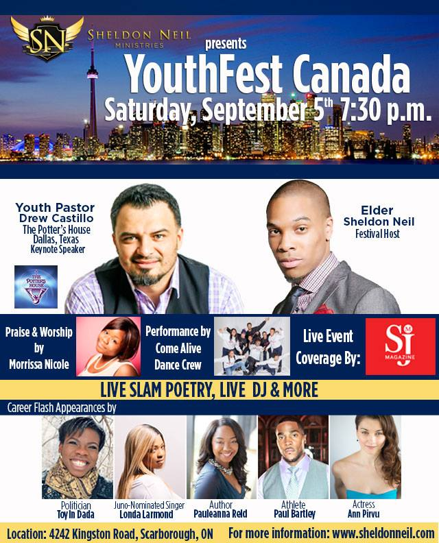 YOUTHFEST CANADA @ Toronto | Ontario | Canada