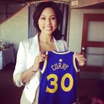 Ayesha Curry, a 26-year-old mom, author and wife to NBA Warriors' Stephen Curry