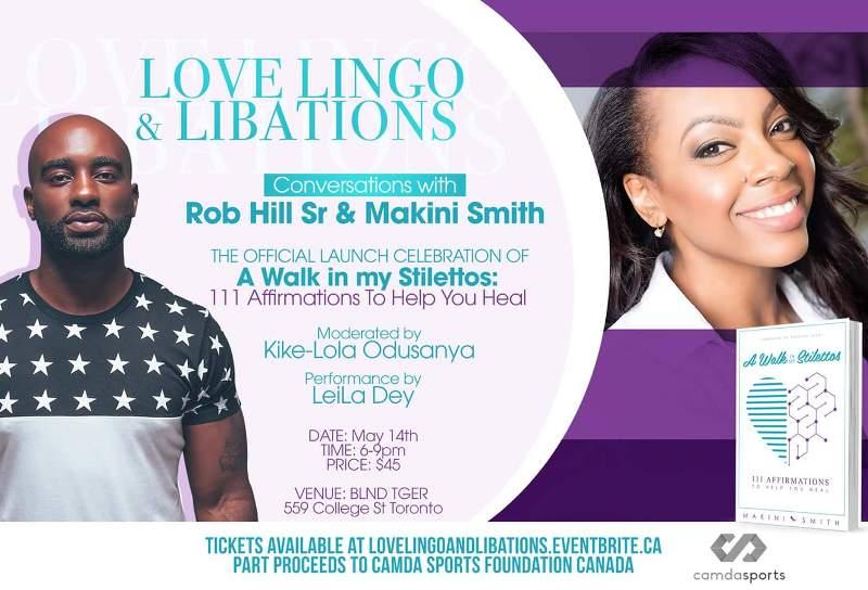 Love Lingo & Libations w. Rob Hill Sr & Makini Smith @ Blnd Tiger   Toronto   Ontario   Canada
