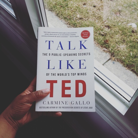 Books: Talk Like TED: 9 Public Speaking Secrets of the World's Top Minds By – Carmine Gallo