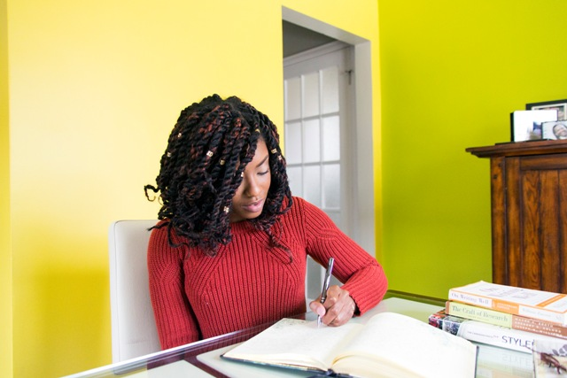 GIRL ON TOP: Creative Wordsmith, Talia Leacock Shares Advice to Young Writers, Her Favorite Book & The Next Big Career Goal