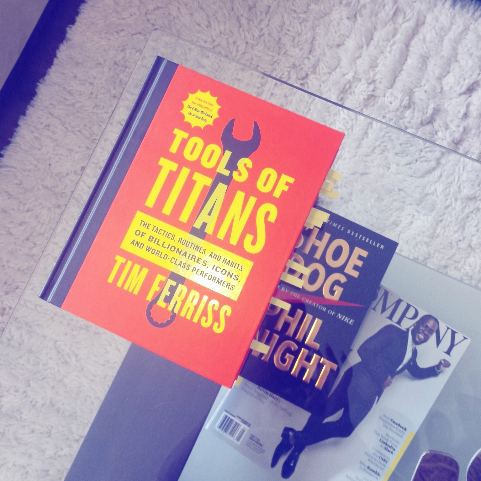 BOOKS: Tools of Titans By – Tim Ferriss