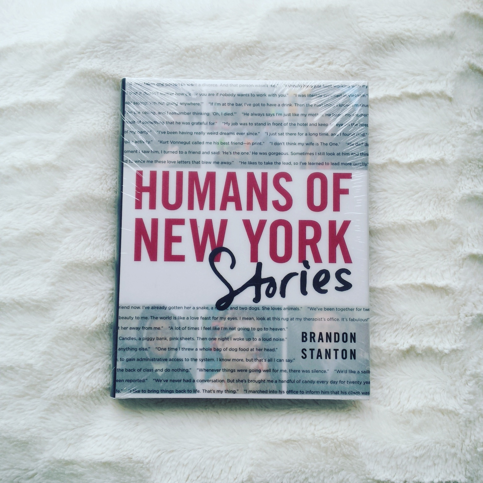 BOOKS: Humans of New York By – Brandon Stanton